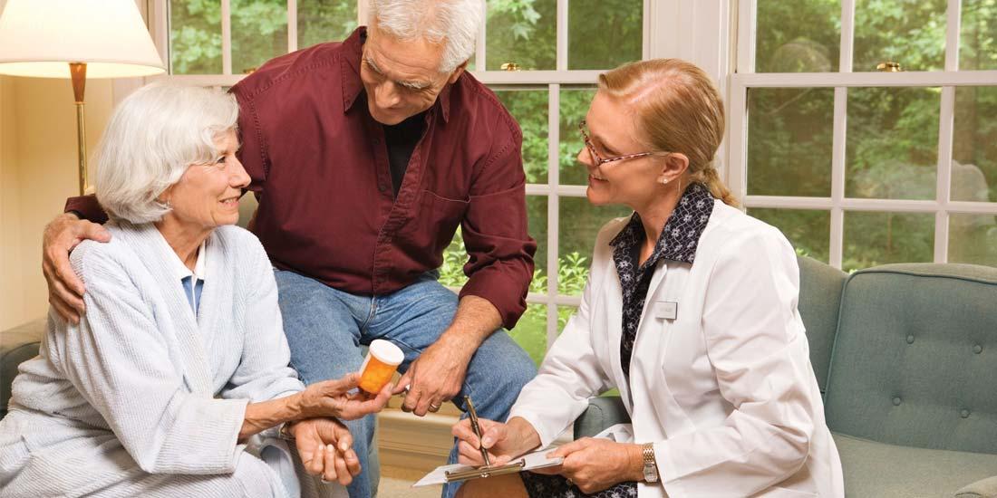 Home Health explaining prescription